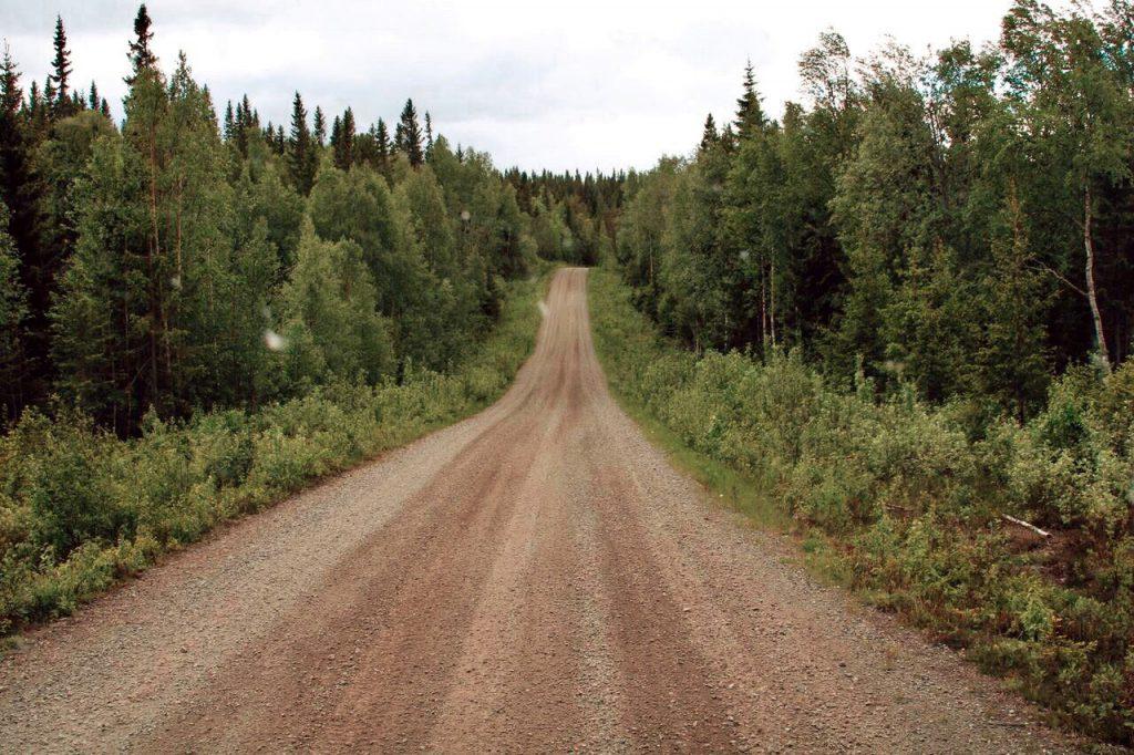 Vildmarksvägen Schweden