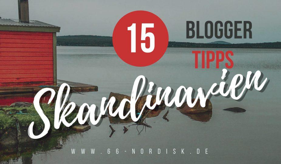 Blogger Tipps Skandinavien