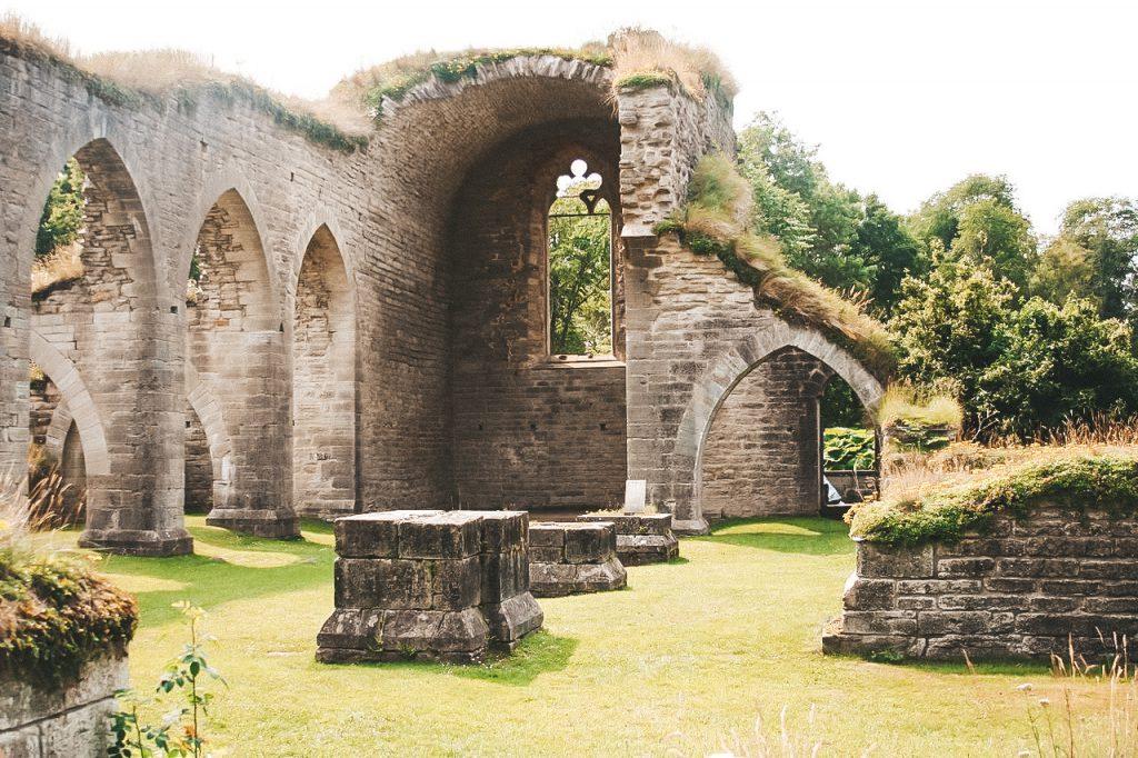 Alvastra Klosterruine