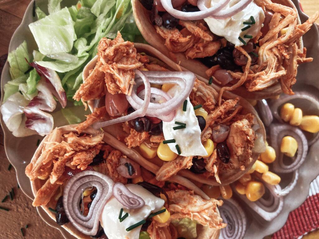Pulled Chicken Tacos Rezeptbild