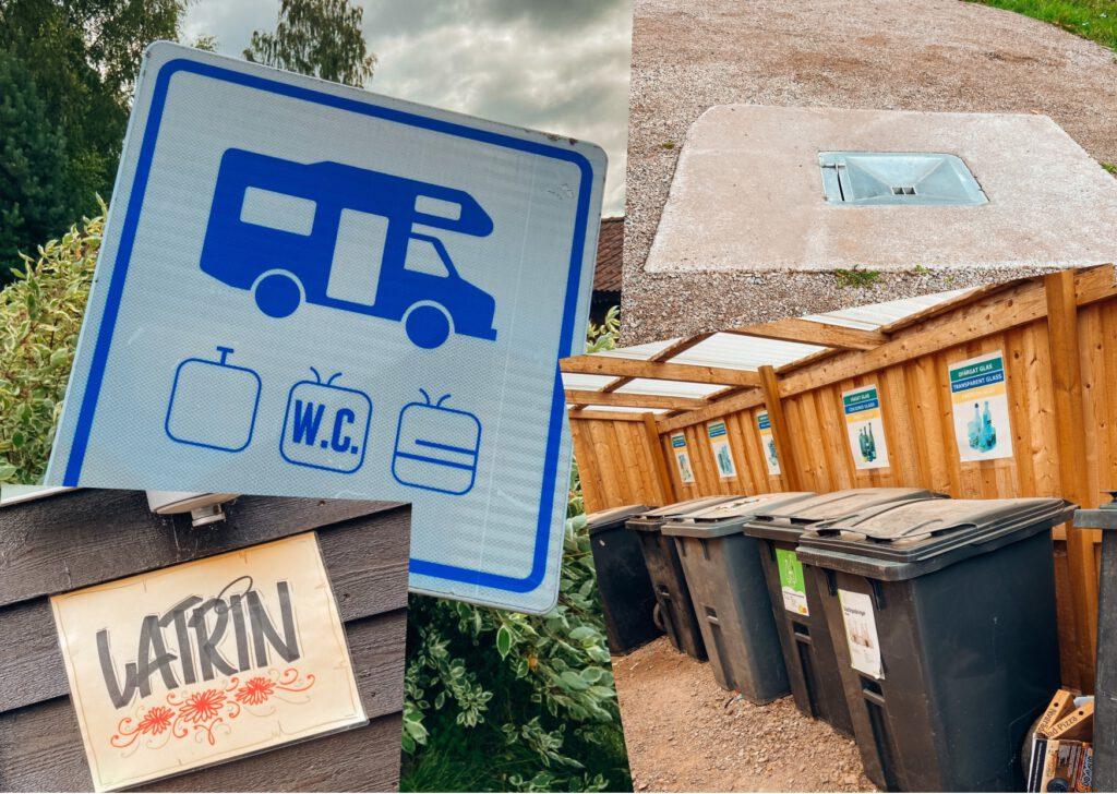 skandinavische Campingplätze