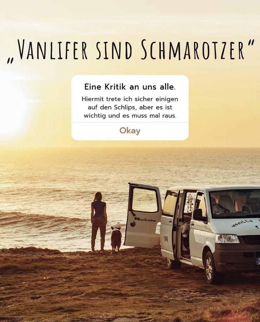 Vanlife Schmarotzer